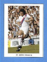 Crystal Palace Gerry Francis 37 (KKMM)